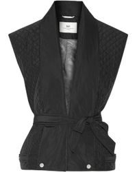 Day Birger Et Mikkelsen Night Flicker Belted Quilted Shell Gilet - Lyst