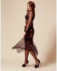 Agent Provocateur - Thea Gown Black - Lyst
