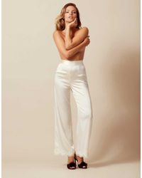 Agent Provocateur - Amelea Pyjama Bottom Ivory - Lyst