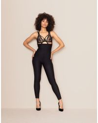 Agent Provocateur - Sheila High Waisted Trousers Black - Lyst