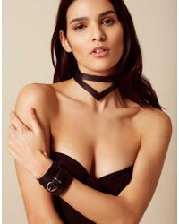 Agent Provocateur - Veronika Leather Double Choker - Lyst