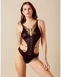 Agent Provocateur - Harley Swimsuit Black - Lyst