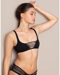 Agent Provocateur - Dakotta Bikini Top Black - Lyst