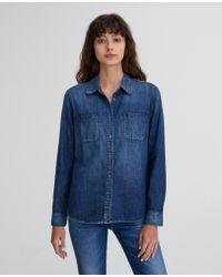 AG Jeans - The Selena Shirt - Lyst