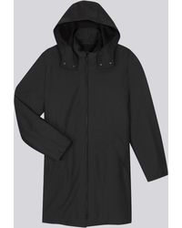 agnès b. - Rainy Coat With Removable Striped Jacket - Lyst