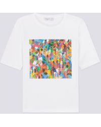 agnès b. - White Jonone Brando T-shirt - Lyst