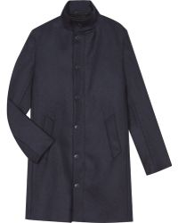 agnès b. - Blue Pierce Coat - Lyst