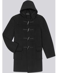 agnès b. - Wool Gloverall Duffle Coat - Lyst