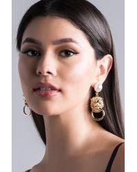 AKIRA - Qi Drop Earring - Lyst