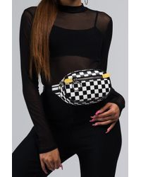 AKIRA - Check Yourself Fanny Pack - Lyst