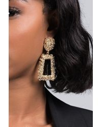 AKIRA - Its Been Awhile Statement Earring - Lyst