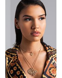 Akira   What A Thrill Layered Necklace   Lyst