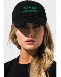 AKIRA Kiss Me Im Irish Hat