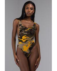 AKIRA - Next Level Camo Bodysuit - Lyst
