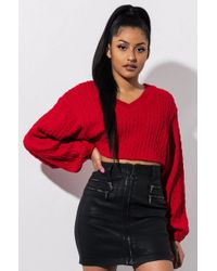 AKIRA - Dont Take Long Mini Skirt - Lyst