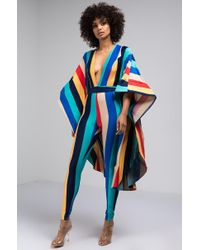 AKIRA - So Much Potential Big Sleeve Jumpsuit - Lyst