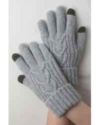 AKIRA - Hold My Hand Wool Gloves - Lyst