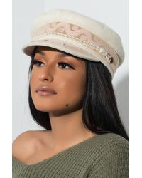 AKIRA - Shes A Keeper Conductor Hat - Lyst