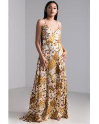 AKIRA - Niykee Floral Dream Maxi Dress - Lyst