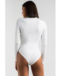 fbc08eec08 PAXTON - Daytona Long Sleeve Bodysuit - Lyst