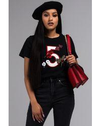 AKIRA - Five Game Embellished T Shirt - Lyst