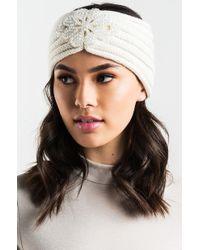 AKIRA - Warm Up Gem Headband - Lyst