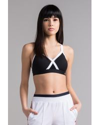 Champion - The Curvy X Back Sports Bra - Lyst