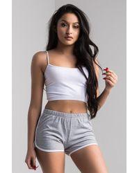 PAXTON - Balaga Shortie Shorts - Lyst