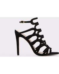 d3539e1b155 Lyst - Vince Idalia Leather Platform Sandal in Black