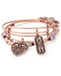 ALEX AND ANI - Love Set Of 3 - Lyst