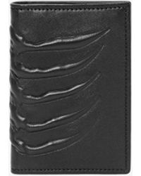 Alexander McQueen - Leather Rib Cage Pocket Organiser - Lyst