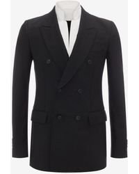 Alexander McQueen - Double Breasted Evening Jacket - Lyst