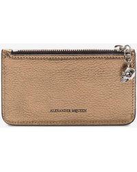 Alexander McQueen - Zipped Card Holder - Lyst