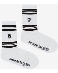Alexander McQueen - Skull Sport Socks - Lyst