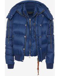 Alexander McQueen - Nylon Down Jacket - Lyst