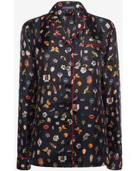 Alexander McQueen - Obsession Print Pyjamas - Lyst