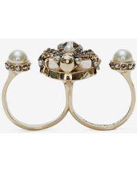 Alexander McQueen - Double Spider Ring - Lyst