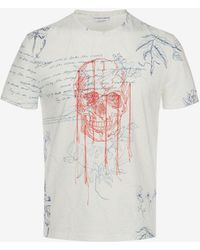 Alexander McQueen - Explorer Printed T-shirt - Lyst