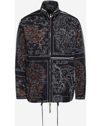 Alexander McQueen - Skull Map Blouson Jacket - Lyst