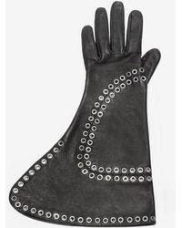 Alexander McQueen - Leather Gloves - Lyst
