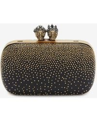Alexander McQueen - Queen And King Embellished Clutch - Lyst