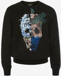 Alexander McQueen - Skull Printed Sweatshirt - Lyst