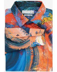 Alexander McQueen - Camicia Painters Canvas - Lyst