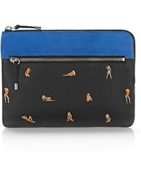 Alexander Wang - Ipad Pouch With Embroidered Bikini Babes - Lyst
