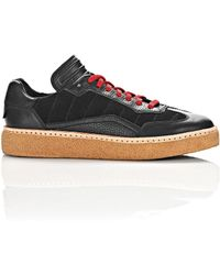 Alexander Wang - Black Leather & Suede Eden Trainers - Lyst