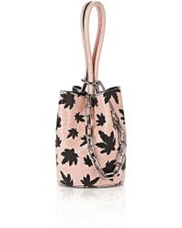 Alexander Wang - Roxy Mini Snakeskin Bucket Bag - Lyst