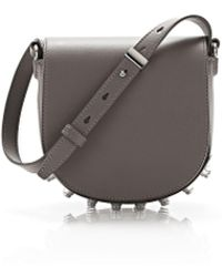 Alexander Wang - Grey Mini Lia Satchel - Lyst