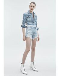 Alexander Wang - Bite Mix Shorts - Lyst