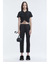 T By Alexander Wang - Wash & Go Pants - Lyst