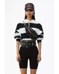 Alexander Wang - Rugby Stripe Cropped Top - Lyst